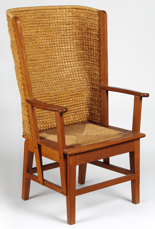 Armchair, based on design by David Kirkness, made by Reynold Eunson, 1971.  Museum no. Circ.120-1971 - David Kirkness - Victoria And Albert Museum