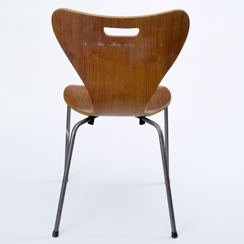 Copy Of An Arne Jacobsen Office Chair, Possibly By Healu0027s London, 1962.  Museum No. W.10 2013, © Victoria And Albert Museum, London