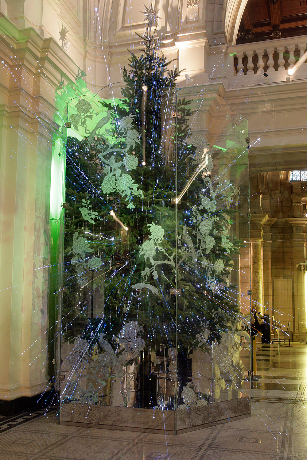 Christmas Tree Installation By Jasper Conran Victoria