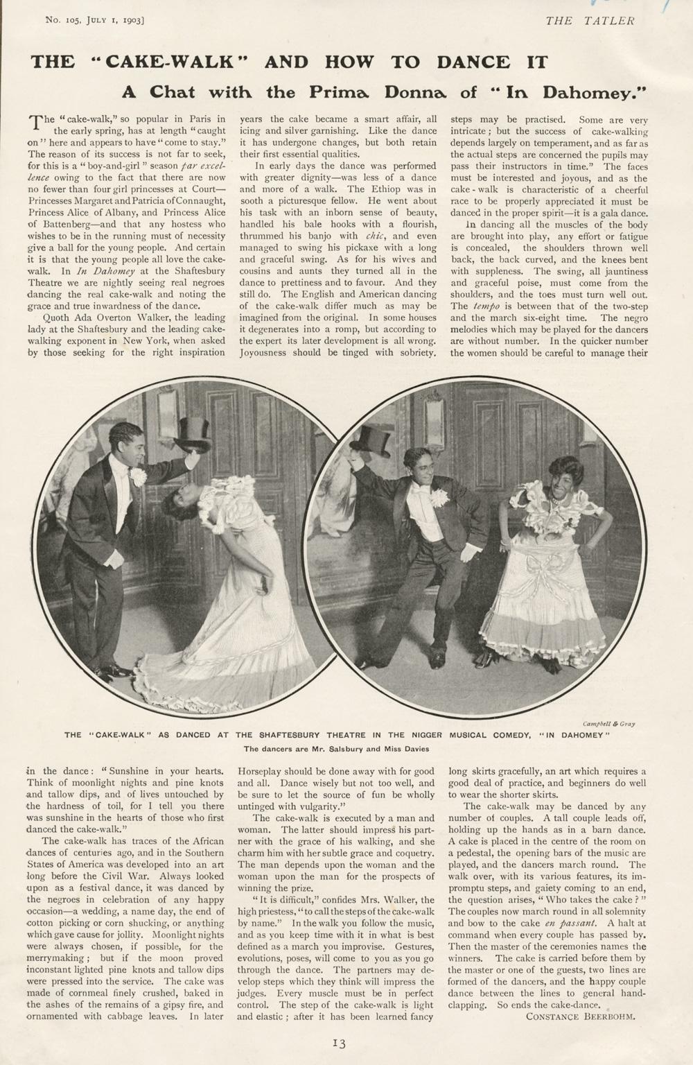 dancing articles