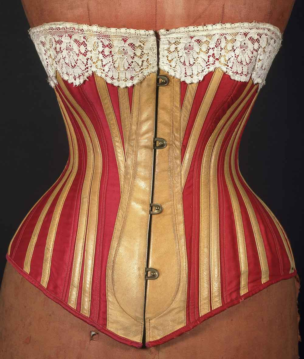 80075754877 Corsets and Bustles from 1880-90 - the Move from Over-Structured ...