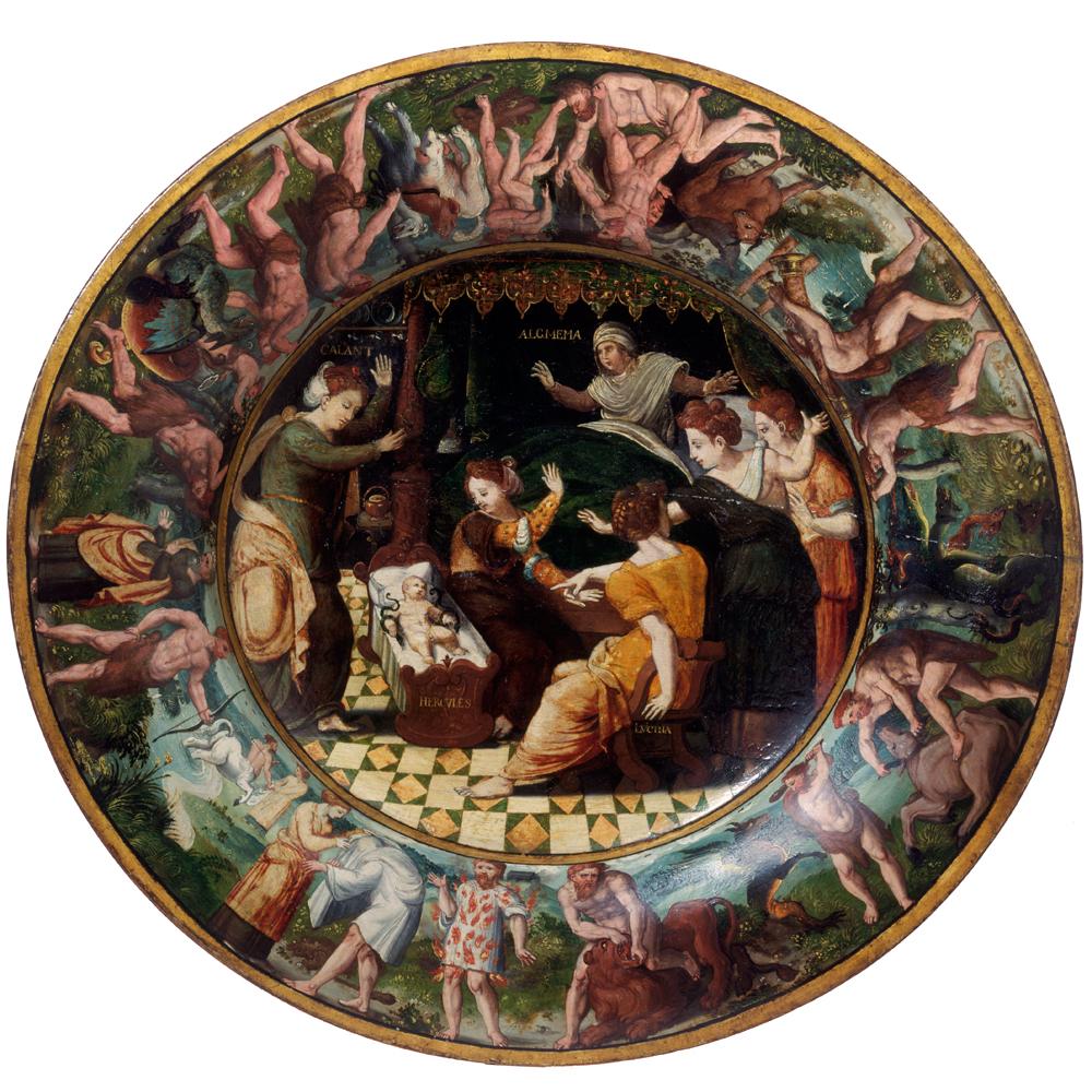 Renaissance childbirth - Victoria and Albert Museum