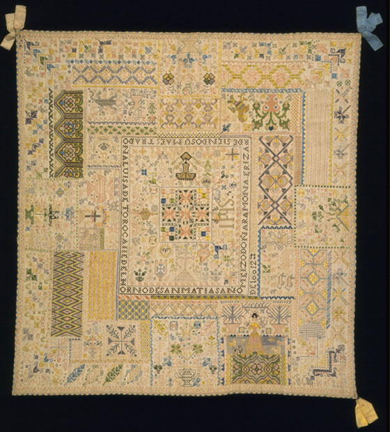 A History Of Samplers Victoria And Albert Museum