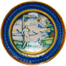 Painting on a plate: Italian Renaissance Maiolica