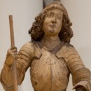 Statue, unknown maker, about 1480-1490. Museum no. A.26-1913