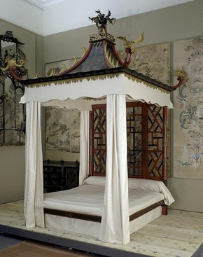 The Badminton Bed, John Linnell, William Linnell, about 1754. Museum no. W.143:1 to 26-1921