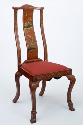 Chair, unknown maker, Britain, about 1725. Museum no. W.44:1, 2-1938
