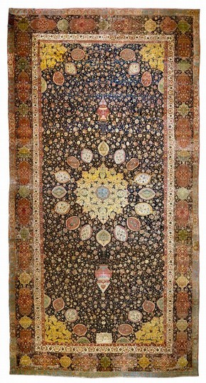 The Ardabil Carpet, Iran, 1539-40. Museum no. 272-1893