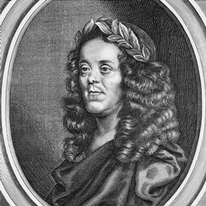 'The Works of Sir William Davenant', frontispiece, printed by TN for Henry Herringman, London, 1673.