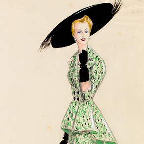 Fashion design, by Marjorie Field for Field Rhoades, London, 1940s. Museum no. E.426-2005