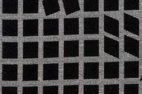 'Oeta', furnishing fabric, Victor Vasarely, 1962. Museum no. CIRC.694-1966