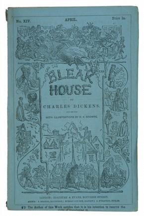 Charles Dickens, 'Bleak House', London, Bradbury Evans, 1853. Pressmark: Forster 48.A.4