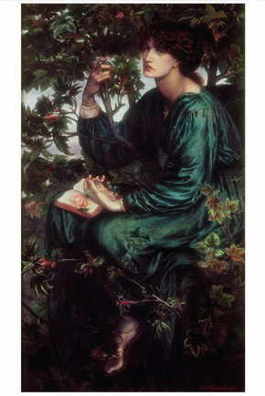 'The Day Dream', oil on canvas by Dante Gabriel Rossetti, England, 1880. Museum no. CAI.3