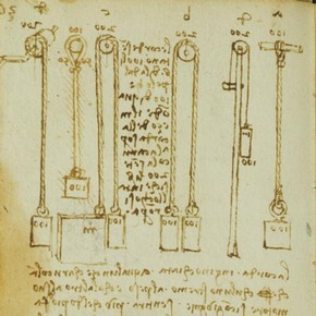 Leonardo da Vinci, Forster Codex, Volume II-2, 123v, 1495-97. Museum no. F.141 Volume II-2 V123 (Forster)