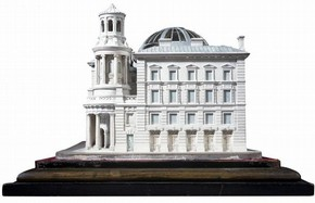 James Bunstone Bunning, The Coal Exchange, Plaster model, about 1847, London, © RIBA Library Drawings Collection