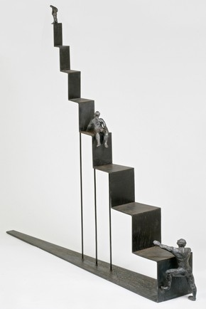 &#39;Ascent&#39;, Brigitte Evill, judged winner of the Sculpture category, Inspired by 2006