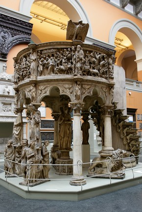 Pulpit, 19th century, Giovanni Pisano,1260. Museum no. Repro.1865-52