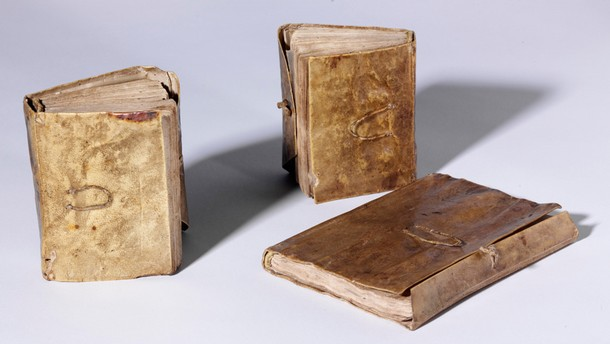 Leonardo da Vinci, Forster Codices, Volumes I, II and III, Late 15th - early 16th Century. Museum no. F.141 (Forster)