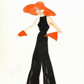 3) Victor Stiebel (1907-76), fashion design, London, 1934-5. Museum no. E.1074-1983
