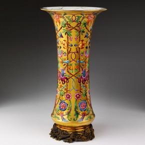 Vase, Lahouche, Boin et Cie, Paris, France, 1844. Museum no. 463-1844