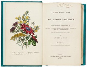 'The Ladies' Companion to the Flower-Garden', by Jane Loudon, 3rd edition, published by William Smith, London, 1844. NAL Pressmark: A.105.19.