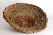 iCircle of Life, made by Susan Early during her Creative Basketry VA 190 class at City Lit