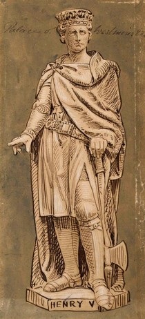 Figure 4 - Henry V in Sketches and Drawings by John Thomas, Volume 2 (RIBA, 50)