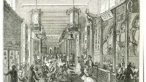 'The Chinese Collection, Hyde Park Corner', from The Illustrated London News, August 6 1842. Museum no. PP10
