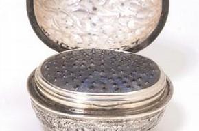 Nutmeg grater, England, 1800-25. Museum no. M.1065-1927
