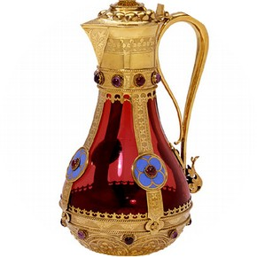 Flagon, John Hardman Powell, 1858-9. Museum no. M.39-1972
