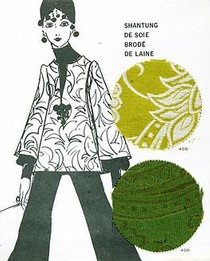 Page from Presage Paris Fashion Forecast, 1968. Museum no. AAD 746.92 PRE28