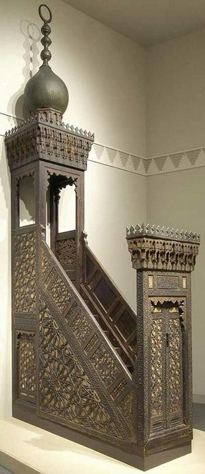 Minbar made for Sultan Qa'itbay, 1468-96, Museum no. 1050-1869. © Victoria & Albert Museum, London