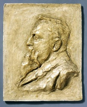 John Tweed, 'Auguste Rodin', about 1902. Museum no. A.29-1924