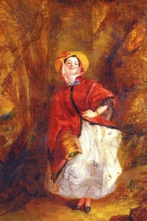 'Dolly Varden', 1842, Museum no. F.8