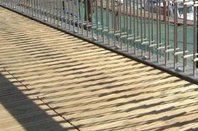 Balustrade on Pavilion Building, Harbourside, Bristol, Dail Behennah, 2006, Photograph by Peter Sulzmann, Childs & Sulzmann Architects