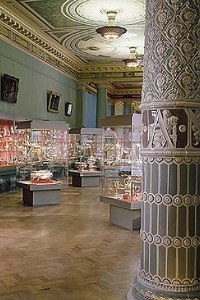 The Silver Galleries from the western entrance