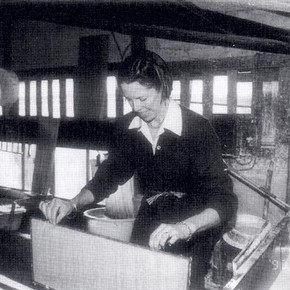 Fig. 1 Making paper in Yoshino
