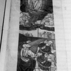 Fig.2. Stained glass tracing after conservation.