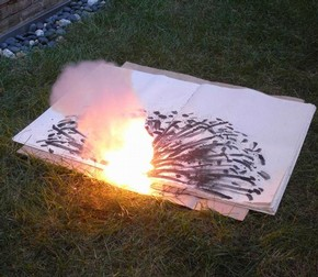 'Danger Book', Cai Guo-Qiang, 2006. Ivory Press.