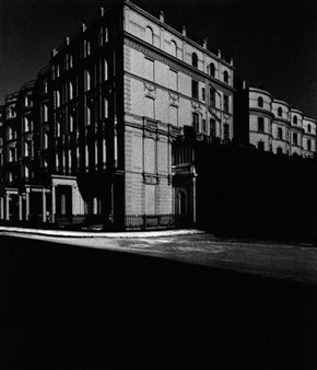 Bayswater Houses Lit by Moonlight, Bill Brandt, 1942 © Bill Brandt Archive Ltd.