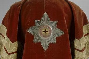 Tabard of the Herald of the Order of St Anna, Johann Kolb and Maria Österreich, 1797, Museum no. TK-1653, © The Moscow Kremlin Museums