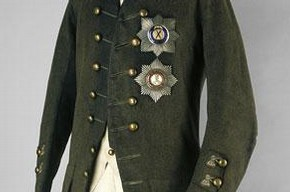 Coronation uniform of Paul I, 1796. Museum no. TK-3018, TK-1552, © The Moscow Kremlin Museums