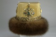 Hat worn by Nicholas II at the Russian Ball of 1903. Fabrique de Chapeaux Bruno Frères, 1903, Museum no.TK-2924, © The Moscow Kremlin Museums