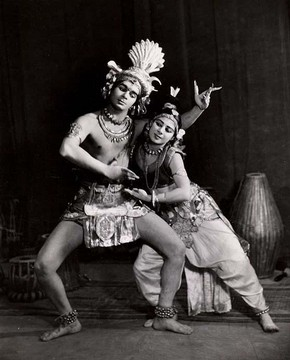Uday Shankur and Simkie, Gaity Theatre, London, England, 1937