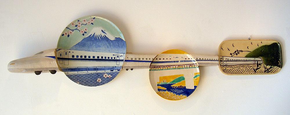 N700 Plates, Keiko Masumoto, 2009