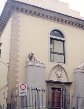 Figure 2 - Exterior of Santa Chiara from Via dei Serragli, Florence, 2008. Photograph: Donal Cooper