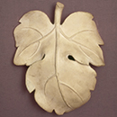 David's fig leaf, perhaps by D. Brucciani & Co., about 1857