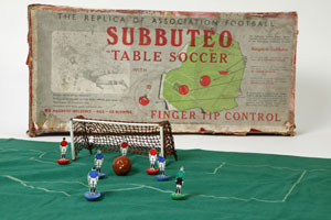 Subbuteo, Peter A Adolphe, England, 1954 copyright Victoria and Albert Museum