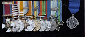 Medal group to Major-General  W H 'Bob' Greenly