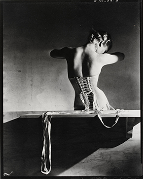Mainbocher Corset, photograph by Horst P. Horst, 1939
